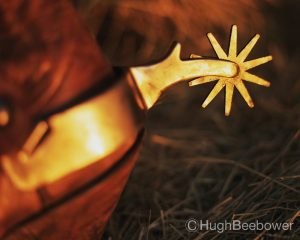 Boot with Spur | Beebower Productinos