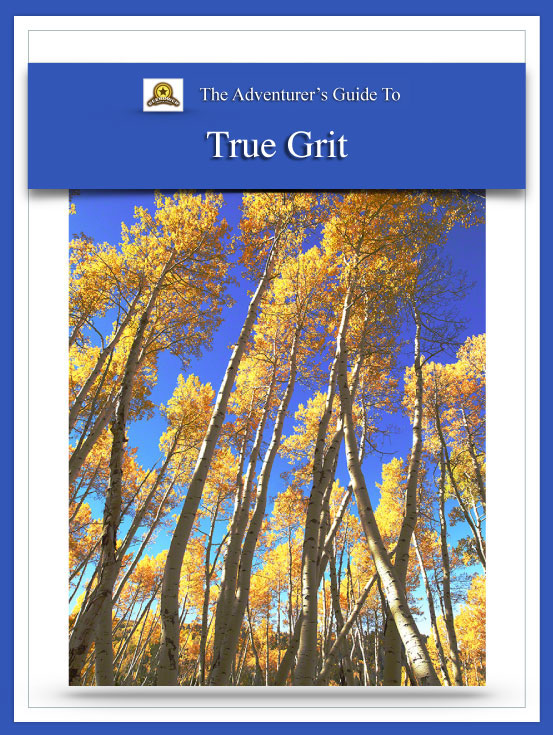 Adventure Guide True Grit Cover | Beebower Productions
